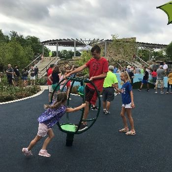 All Abilities Grand Opening Kids Playing