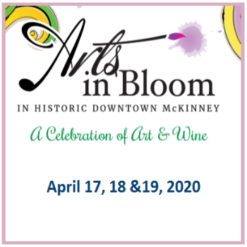 2020 McKinney Arts in Bloom