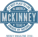 Money Magazine 2014 McKinney Best Place to Live logo