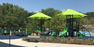 All-Abilities playground at Bonnie Wenk